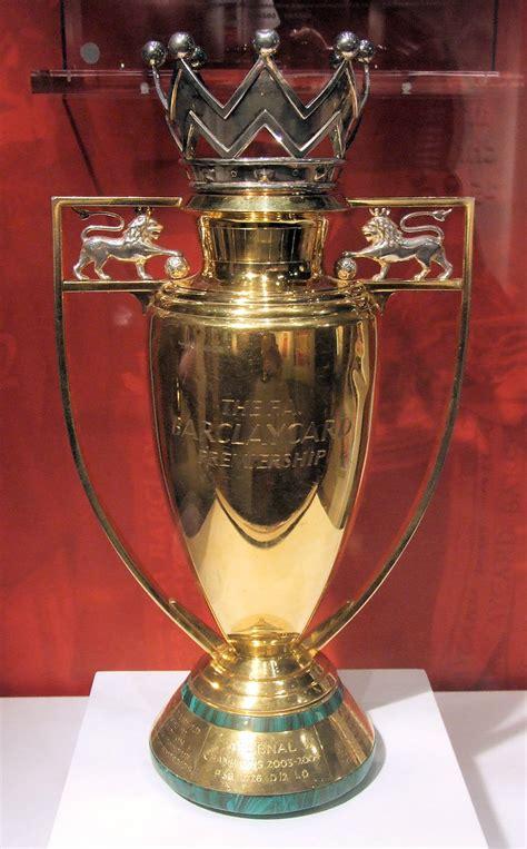 Premier League Trophy 2003 - 04   Arsenal won the Premier ...