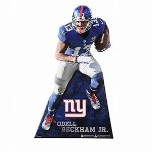 Odell Beckham Jr Life-Size Stand Out Cut Out Shop