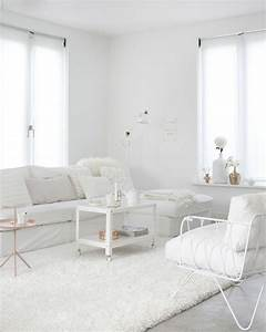 advertisement With white on white living room decorating ideas
