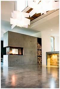 Kamin Als Raumtrenner : beton ist modern aber kalt nein nicht mit einem brunner panorama kamin schnelle und direkte ~ Indierocktalk.com Haus und Dekorationen