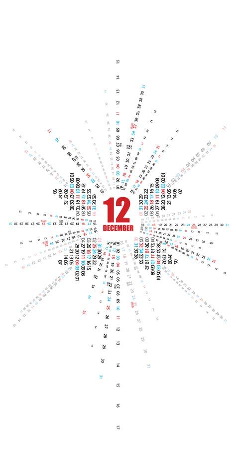 Typo Kalender 2016 by Doodling Typo Calendar