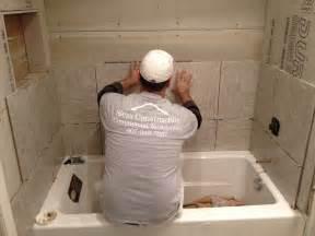 tile installation bath tub installation in maitland fl dommerich sless construction