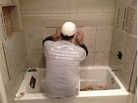 how to tile a shower wall Tile Installation & Bath Tub Installation in Maitland, FL ...