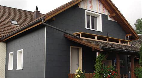 Mit Fassadenplatten by Zierer Fassadenplatten Ss1 Aus Kunststoff In Schiefer Optik