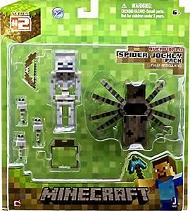 Minecraft Spider Jockey Action Figure Set By Minecraft