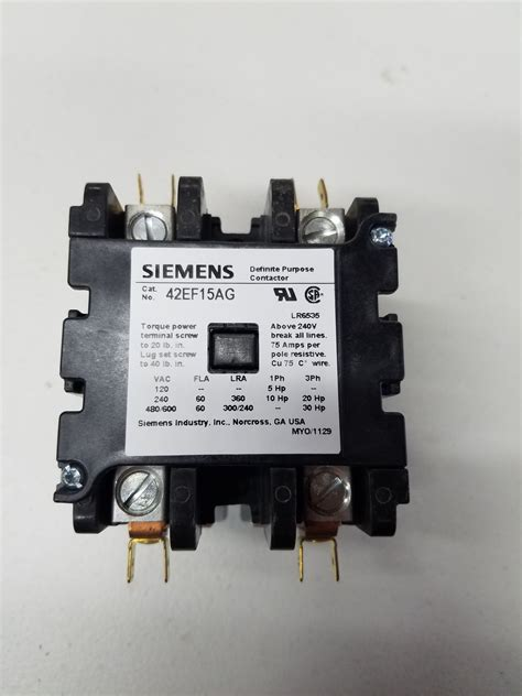 2 Pole Contactor Wiring by 60 2 Pole Contactor 208 240v Coil