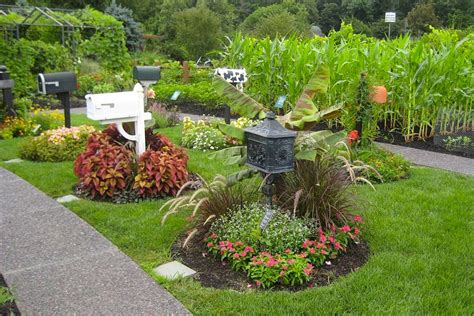 design your own landscape create your own mailbox garden lakeview nurseries