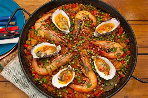 cuisine paella pacific paella recipe sbs food