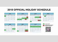 China's Official 2018 Holiday Calendar Announced Earlier