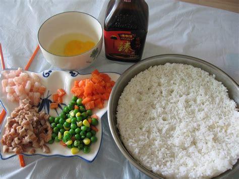 cuisiner le vrai riz frit chinois recette préparation du vrai riz cantonais chine informations