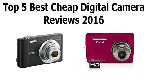 Top 5 Best Cheap Digital Camera 2016 Best Compact Digital