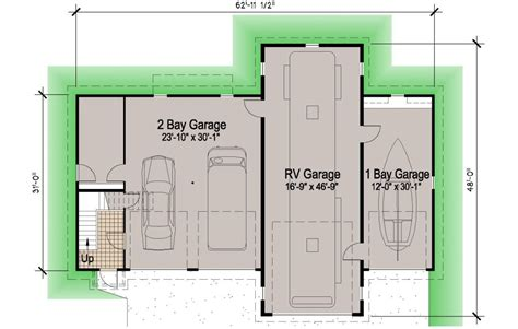 home floor plans with basements island rv garage 45 39 motor home southern cottages