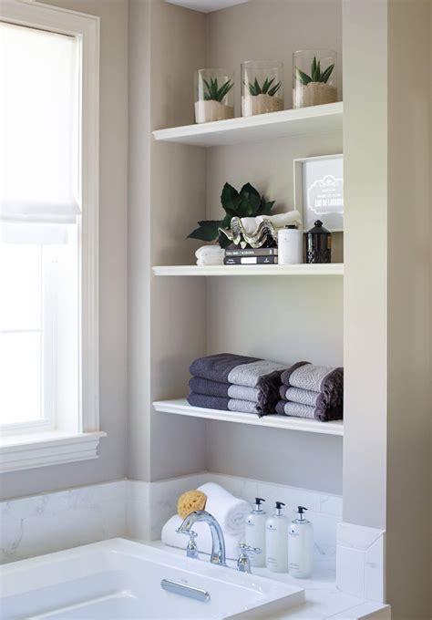 bathroom wall shelves casual cottage interior design ideas home bunch interior design ideas