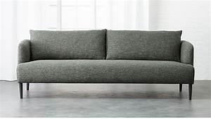 Ronan Grey Sofa Reviews CB2