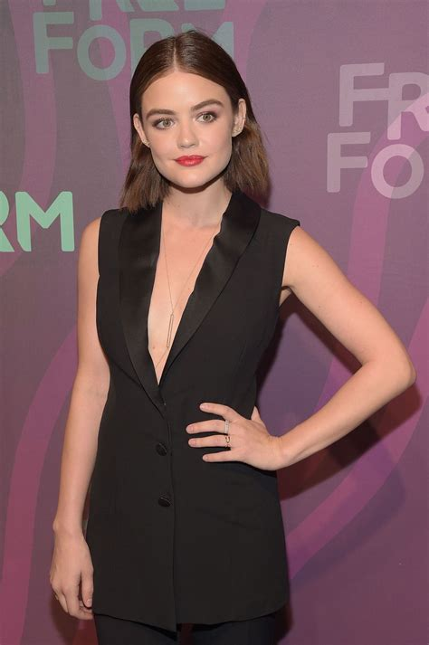Lucy Hale – 2016 ABC Freeform Upfront in New York City, NY ...