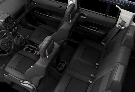 jeep patriot 2016 interior jeep patriot 2016 ya en méxico precios y versiones