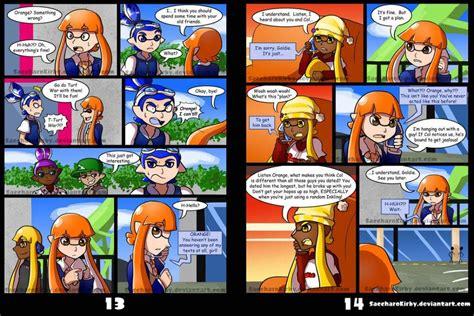 Splatoon Rainmaker Comic