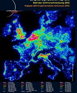 Carte Europeenne Pollution by Cartes De Pollution Lumineuse Europ 233 Enne Avex 2016 Les