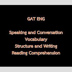 แนวทางการทำ Gat Eng ในแต่ละพาร์ท เน้น Reading Dekdcom