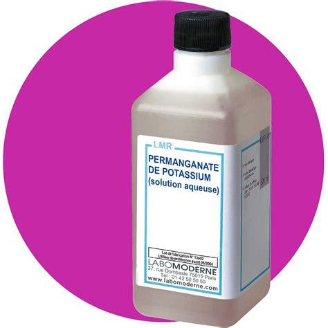 permanganate de potassium