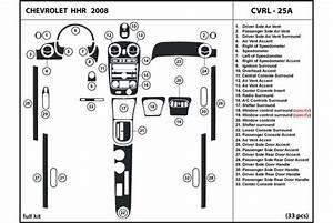 Dl Auto U00ae Chevrolet Hhr 2008 Dash Kits