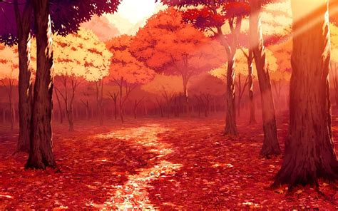 Anime Fall Wallpaper - anime fall wallpapers 59 images