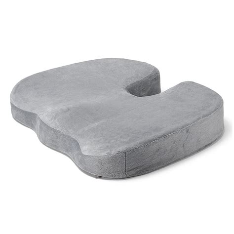 orthopedic seat cushion for chair coccyx orthopedic gel enhanced comfort memory foam seat