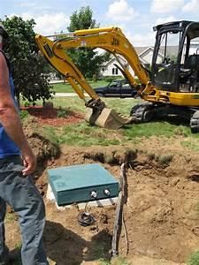Kline Excavating Photos Of Atu Installation Aerobic