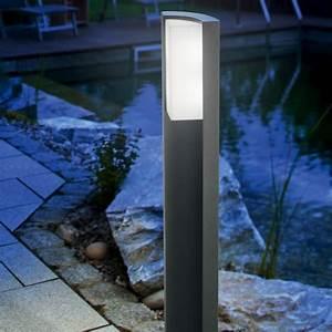 Eclairage Exterieur Jardin : borne clairage led 100 cm tirano sur ~ Melissatoandfro.com Idées de Décoration