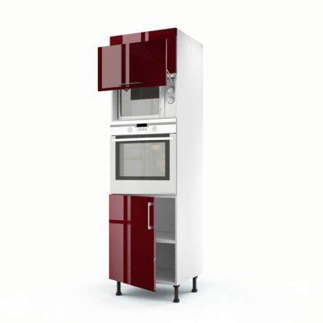 livre de cuisine au micro onde meuble de cuisine colonne 3 portes griotte h 200 x l 60 x p 56 cm leroy merlin