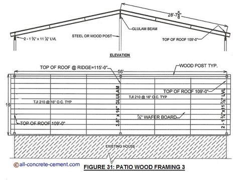 wood patio cover design patio cover ideas wood patio