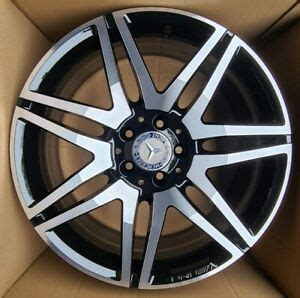 Alloy wheels aesthetics and safety. 19 INCH GENUINE MERCEDES AMG E CLASS ALLOY WHEEL w212 w207 A2124014502 FRONT   eBay