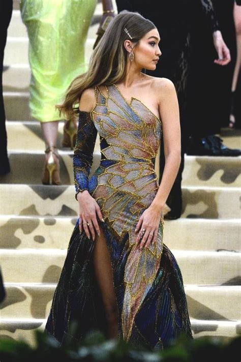 gigi hadid met gala  gala dresses fancy dresses