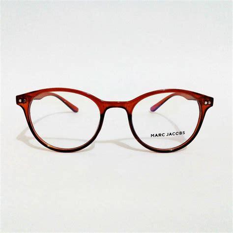 jual beli frame kacamata minus anti uv marck bulat