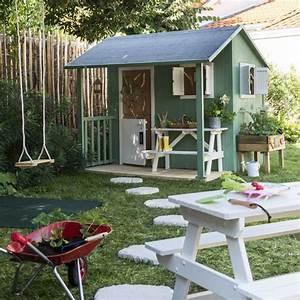 awesome maisonnette en bois resto castorama plus with diy With decoration d un petit jardin 6 fabriquer un lit cabane pour les petits loulous