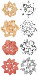 Crochet Flowers Diagram 1