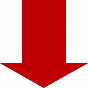 Red Down Arrow Clip Art at Clker.com - vector clip art ...