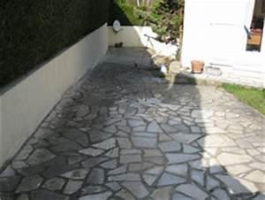 Comment Nettoyer Une Terrasse En Pierre : terrasse pierre noircie nos conseils ~ Melissatoandfro.com Idées de Décoration