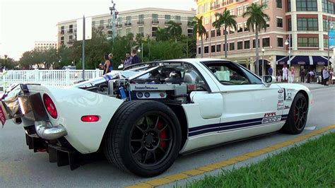 Ford Gt 1800 Hp Top Speed 347 Mph Start Up And Drive