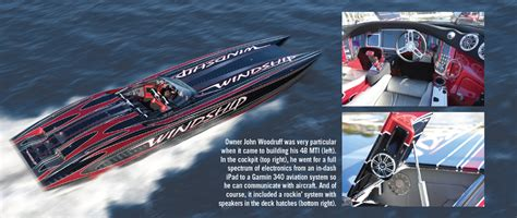 Mti Boats Careers by Mti Boat Featured In Powerboat Magazine On Display At
