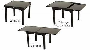 Table de jardin Hespéride extensible Piazza 4/ 8 places Jardideco