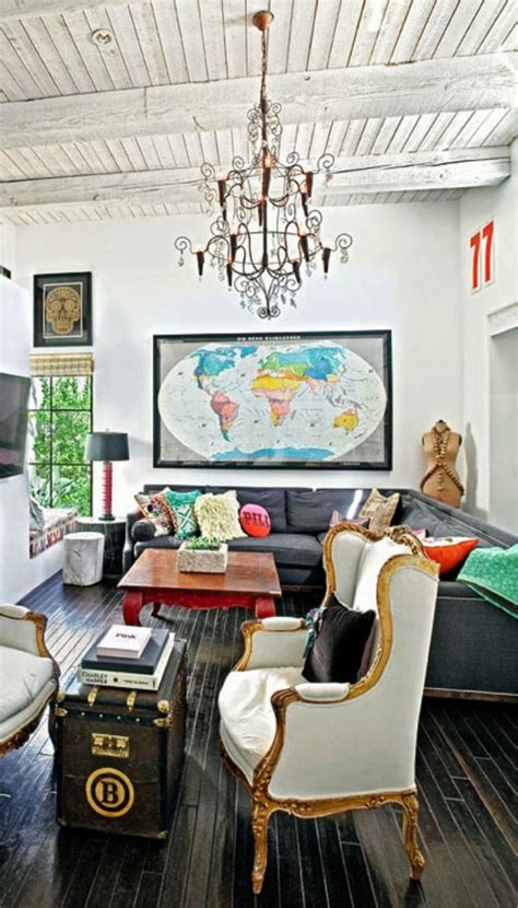 Wohnzimmer Antik Modern by Wandgestaltung Wohnzimmer 20 Kreative Wanddeko Ideen