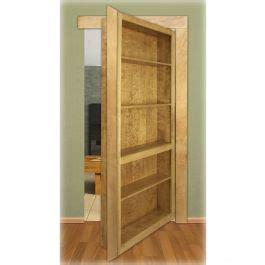 cherry invisidoor bookcase shelving unit kit rockler