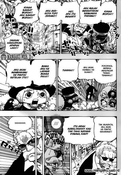 One Piece Chapter 711 Petualangan Di Negeri Kurcaci
