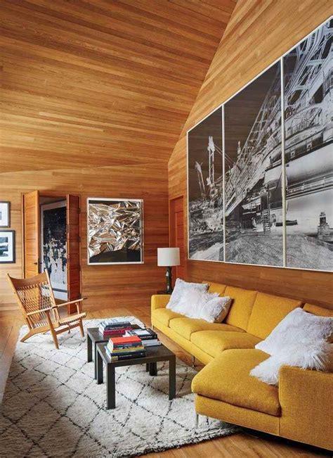 canapé style chalet déco chalet de montagne moderne ou traditionnelle