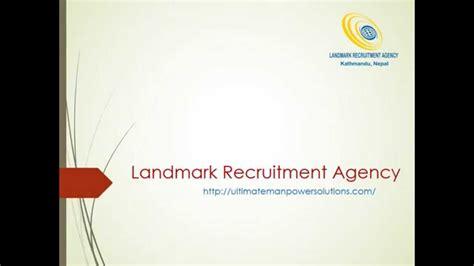 Recrutement Bureau D Ude Landmark Recruitment Agency