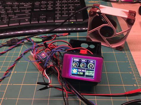 Lulzbot Mini Arduino Temp Monitor Fan Led Controller