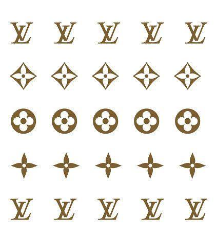 louis vuitton lv nail decals classic monogram  jackiesnailcandy louis vuitton tattoo louis