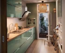 country ideas for kitchen zielona nowowczesna kuchnia ikea zdjęcie w serwisie