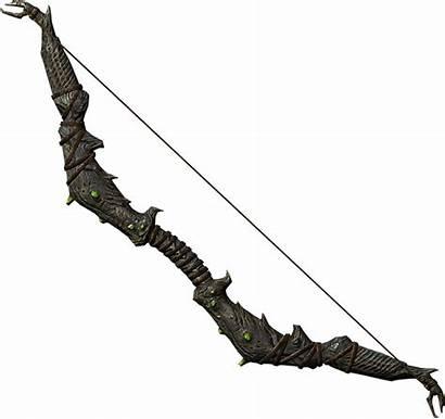 Bow Falmer Skyrim Weapons Elder Scrolls Bows